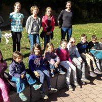 Ausflug der Trachtenkinder mit Rätzelspaß